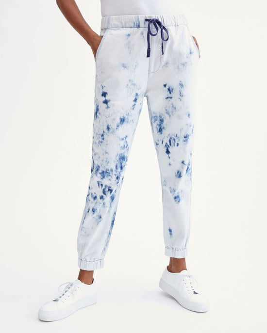 7 For All Mankind Drawstring Jogger in St. Tropez