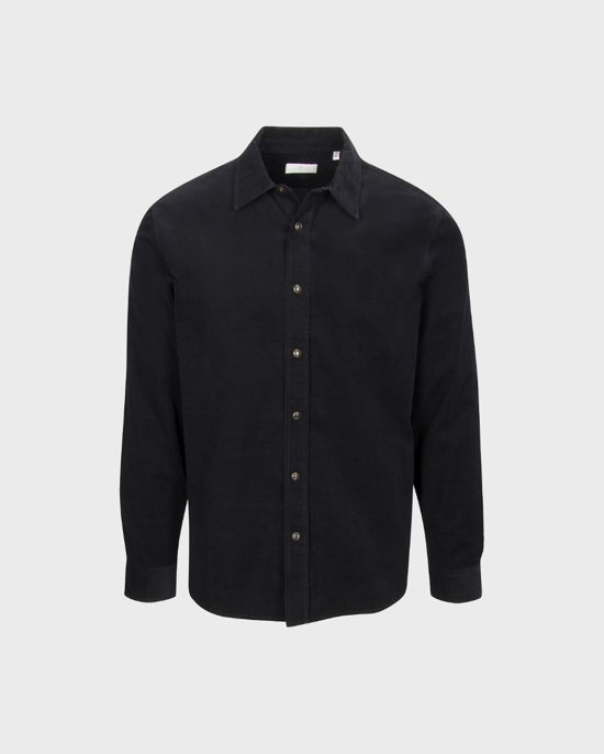 7 For All Mankind Corduroy Shirt in Black