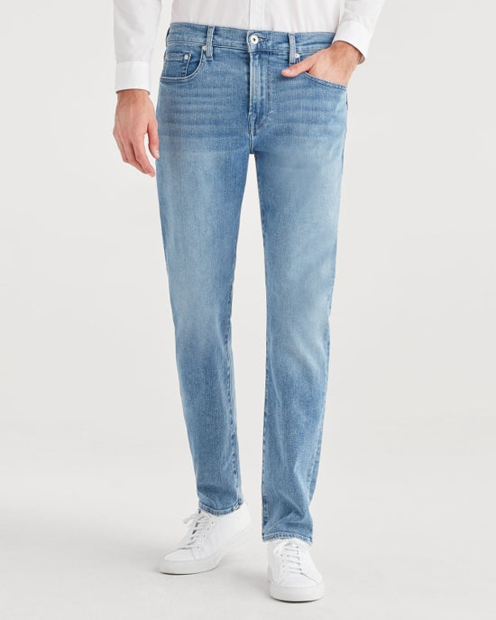 7 For All Mankind Luxe Sport Adrien Slim Tapered with Clean Pocket in Bignell