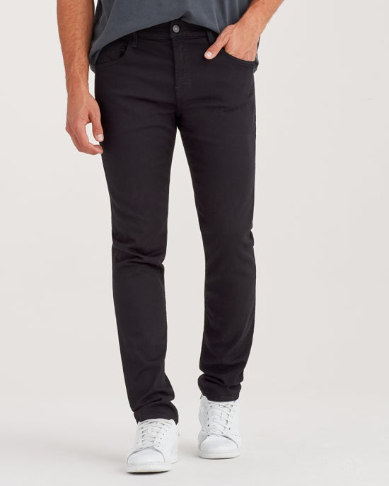 7 For All Mankind Luxe Sport Paxtyn Skinny in Black