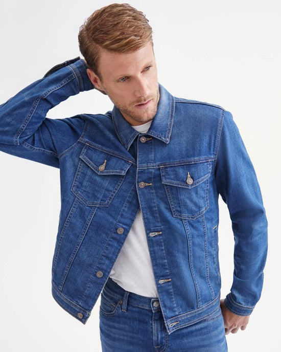 7 For All Mankind Trucker Jacket in Topanga