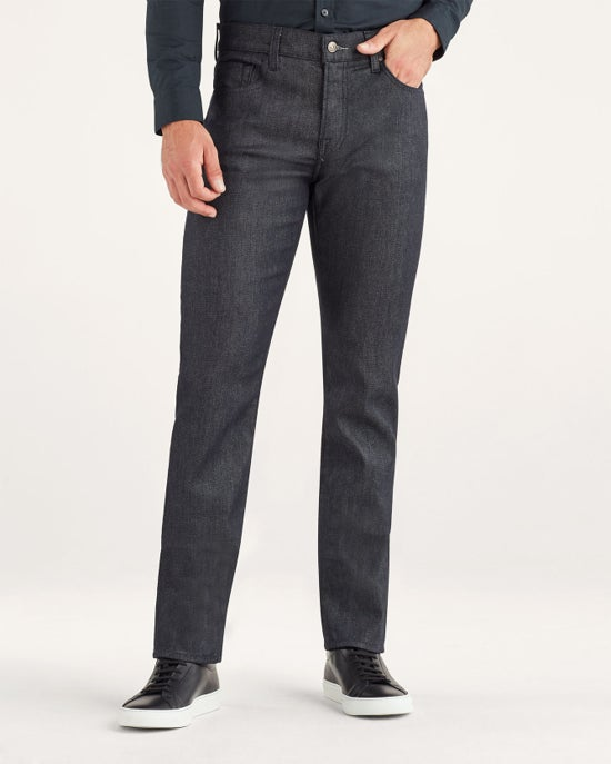 7 For All Mankind No-Fade Slimmy with Clean Pocket in Raw Blue