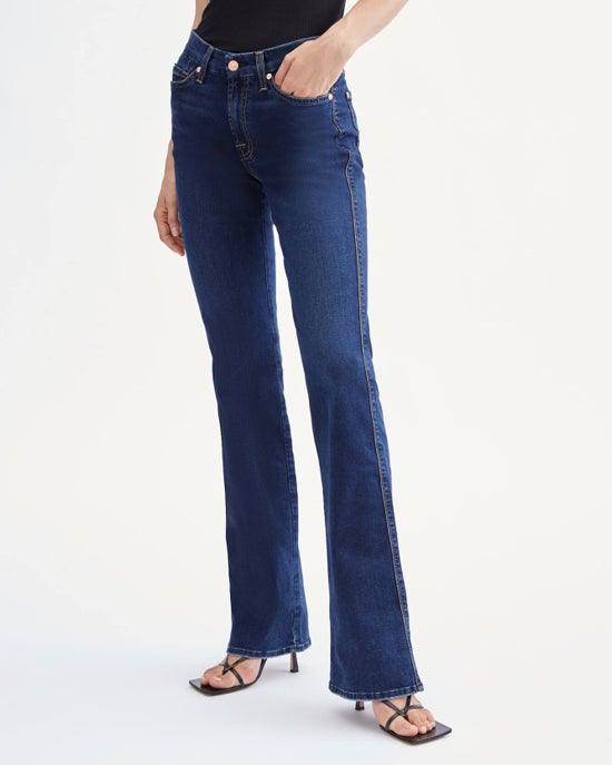 7 For All Mankind B(air) Kimmie Bootcut in Mimosa Blue