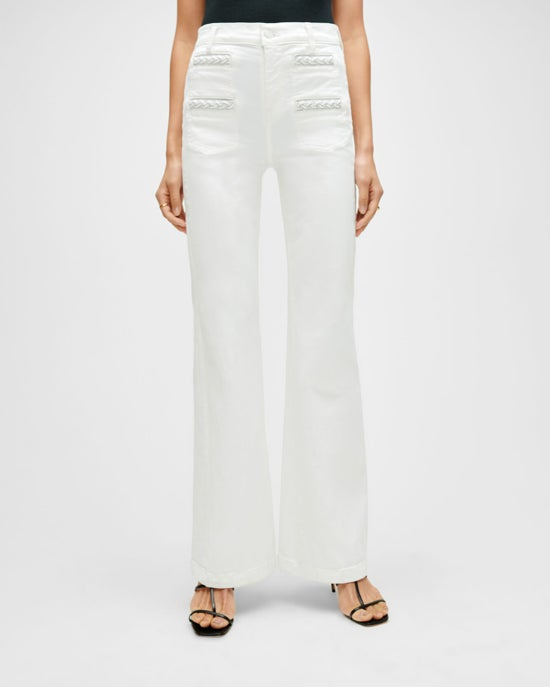 7 For All Mankind Georgia Wide-Leg Jean in Prince Street