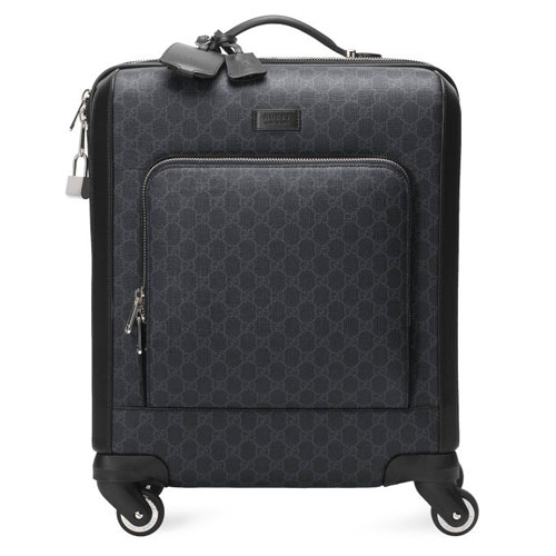 Gucci Men GG Supreme Cabin Carry-On Suitcase