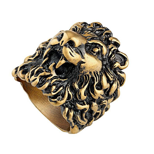 "Gucci Women's Ring ""Lion Head"""