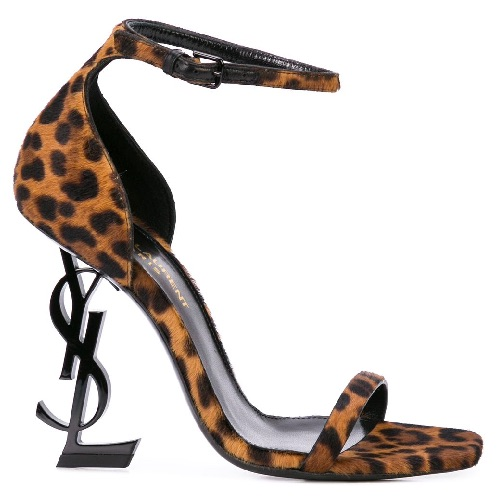 "Saint Laurent Sandals ""Leopard Opyum"""