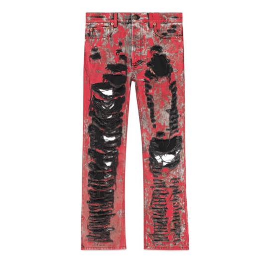 "Gucci Men's Jeans ""Ripped Denim"""