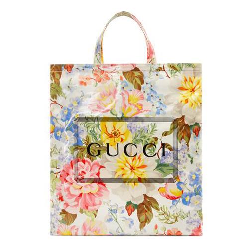 "Gucci Tote Bag ""Floral Motif"""