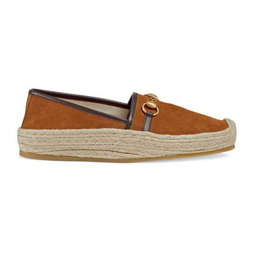 "Gucci Men's Espadrille ""Horsebit"""