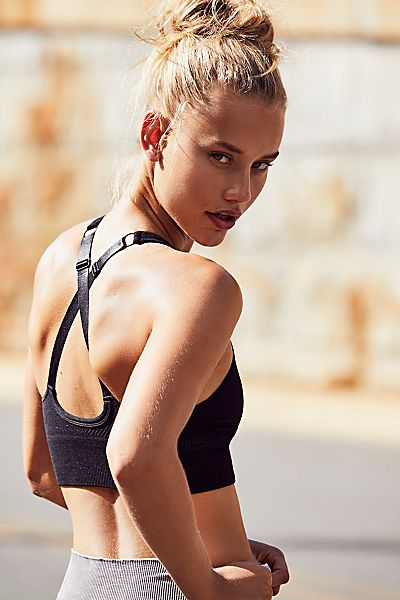"Free People Workout Sports Bra ""Seamless Method"""