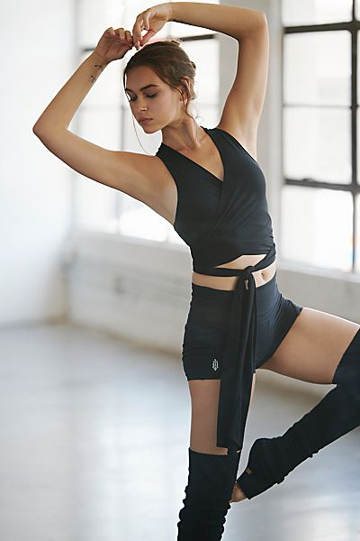 """Free People Workout Top """"That's A Wrap"""" FP Movement"""