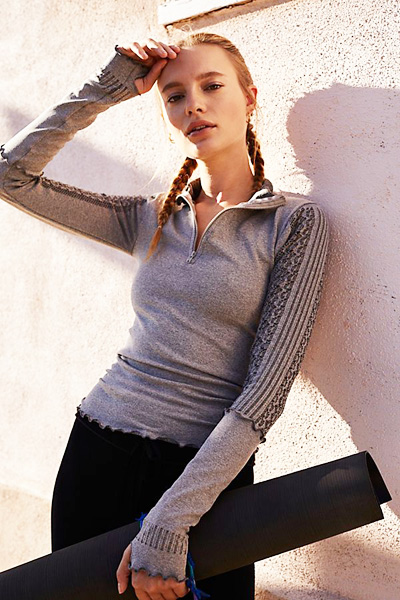 Free People FP Movement Active-Wear Seamless Layering Top