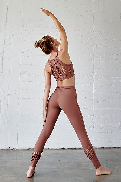 "Free People Workout Legging ""Revelation"" FP Movement Activewear"