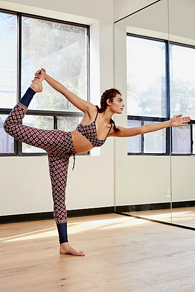 "The Upside Yoga Pants ""Turkish Tile"" Leggings"