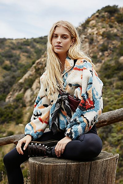 """Free People Activewear """"Hit The Slopes Jacket"""""""