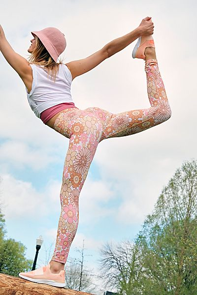 "KAVALA Workout Leggings ""Flower Power"""