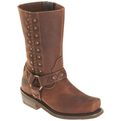 Harley-Davidson - Auburn - Women's Boots in Brown
