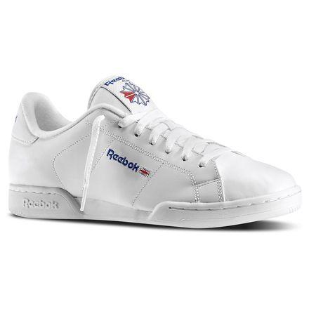Reebok NPC II Men's Court Shoes in White