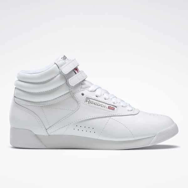 Reebok Freestyle HI Women's Fitness Shoes in White
