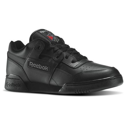 Reebok Workout Plus Men's Fitness Shoes in Black / Charcoal
