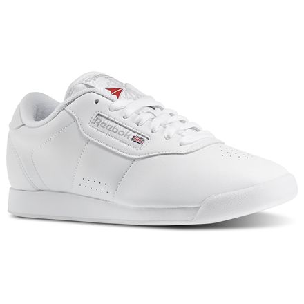 Reebok Princess Wide D Women's Fitness Shoes in White