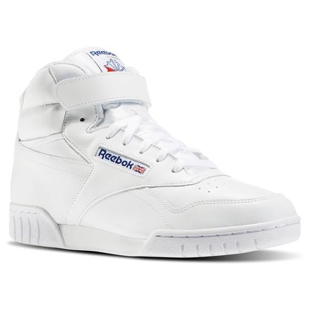 Reebok Ex-O-Fit Hi Men's Fitness Shoes in White