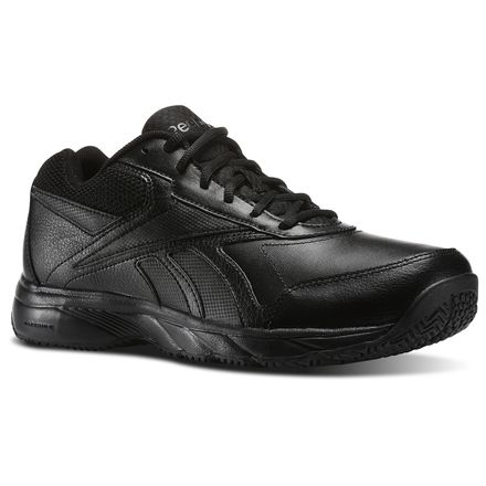 Reebok Work N Cushion 2.0 4E Men's Walking Shoes in Black