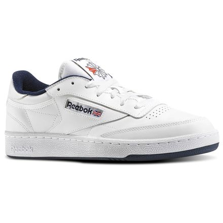 Reebok Club C 85 Men's Shoes White / Navy