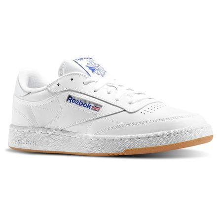 Reebok Club C 85 Men's Shoes White / Royal
