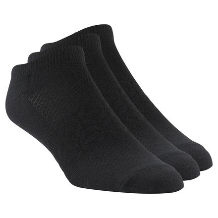 Reebok CrossFit Mens Inside Thin Sock 3pair Men's in Black