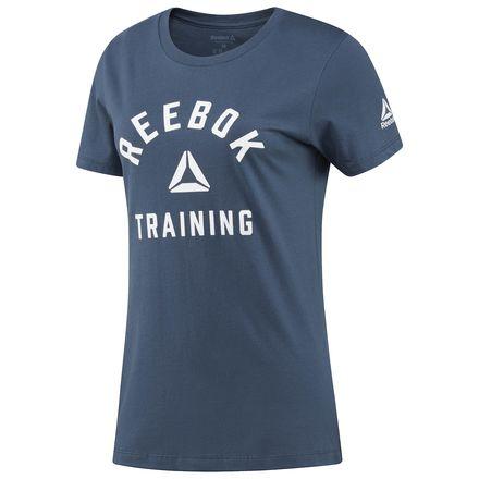 Reebok Training Tee Women's T-Shirt in Indigo