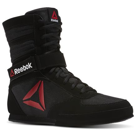 Reebok Boxing Boot - Buck Men's MMA Shoes in Black / White