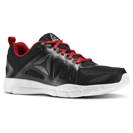 Reebok Trainfusion Nine 2.0 LMT Men's Fitness Training Shoes in Black / Excellent Red / Pewter / White