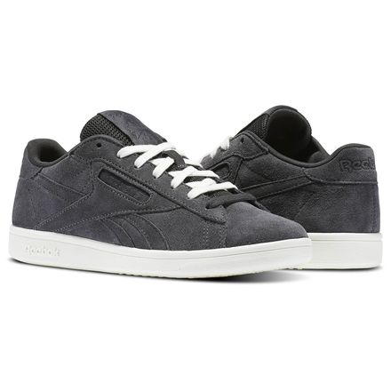 Reebok NPC UK Leather Women's Court Shoes in Coal / Chalk