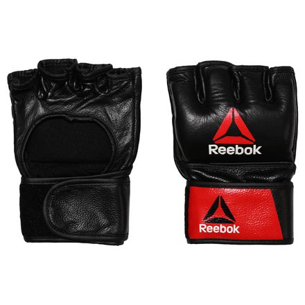 Reebok MMA Glove Small Unisex Combat Training in Red / Black