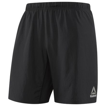 Reebok Running Essentials Men's Short - 8in in Black