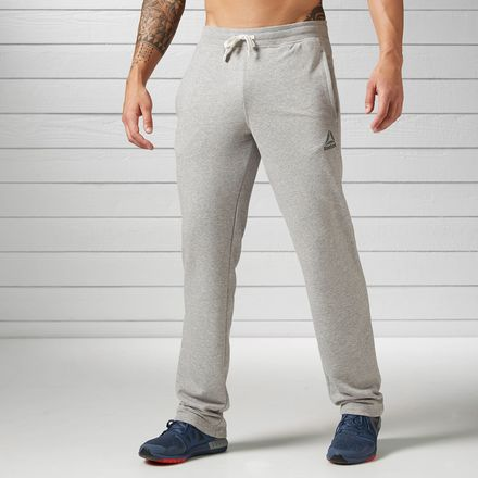 Reebok French Terry Men's Training Pants in Grey Heather