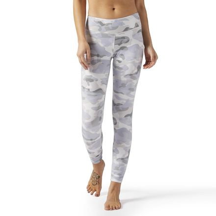 huge inventory presenting buy popular Reebok Lux Legging - Camo Print Women's Training Tights in ...
