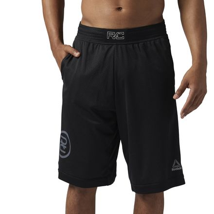 "Reebok Combat Boxing Short Men's Combat Apparel 11"" Inseam in Black"