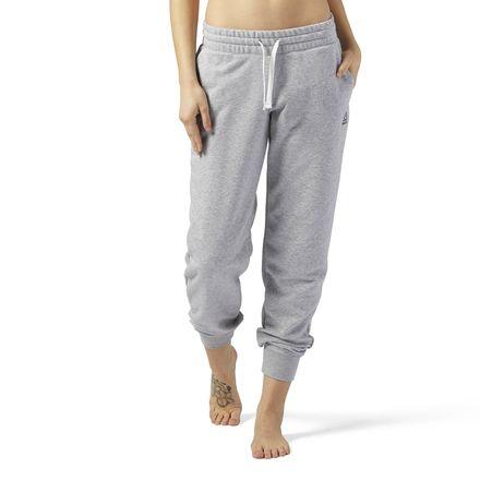 Reebok Elements French Terry Women's Training Sweatpants in Grey