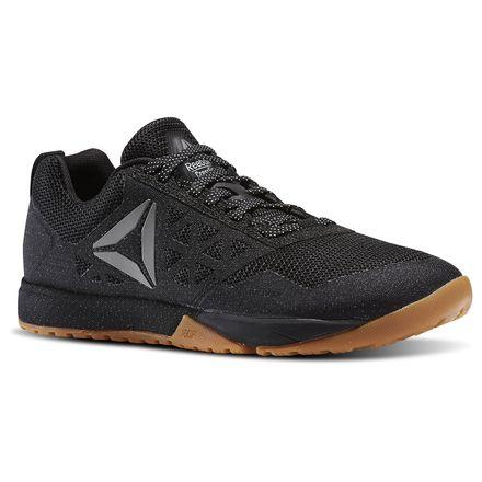 Reebok CrossFit Nano 6.0 Women's Training Shoes Dark Stealth in Black / Reebok Rubber Gum / White / Pure Silver