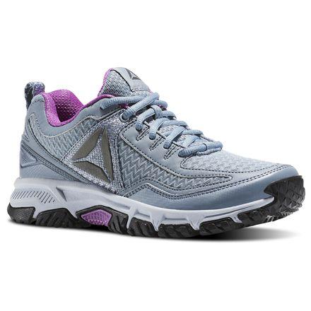 Reebok Ridgerider Trail 2.0 Women's Walking Shoes in Meteor Grey / Asteroid Dust / Cloud Grey / Violet / Pewter