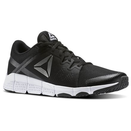 Reebok Trainflex Men's Training Shoes in Black / White / Pewter