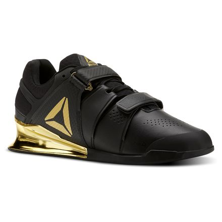 Reebok Legacy Lifter Men's Training Shoes in Black / Gold