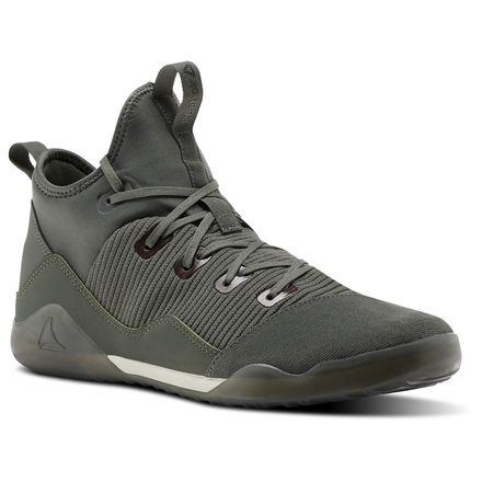 Reebok Combat Noble Trainer Men's Combat Shoes in Ironstone / Chalk / Coal