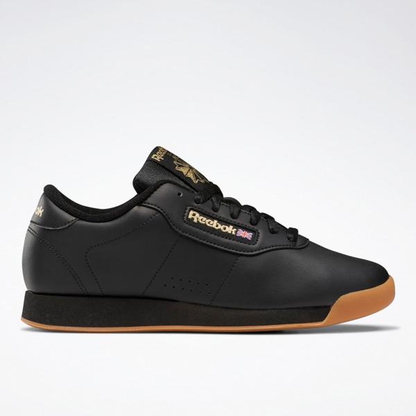 Reebok Princess Women's Lifestyle Shoes in Black / Gum