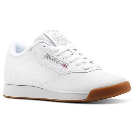 Reebok Princess Women's Fitness Shoes in White / Gum