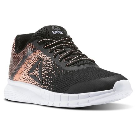 Reebok Instalite Run Women's Running Shoes in Black / White / Sour Melon