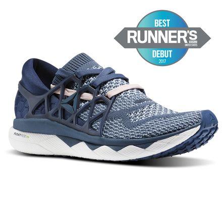 Reebok Floatride Run Women's Running Shoes in Smoky Indigo / Collegiate Navy / White / Shell Pink / Gable Grey